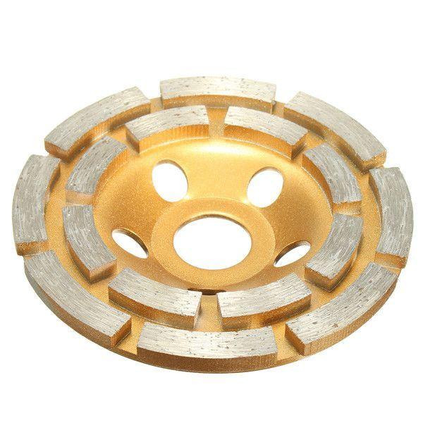 Mm Diamond 2 Row Segment Grinding Wheel Disc For Concrete Masonry Stone Marbl