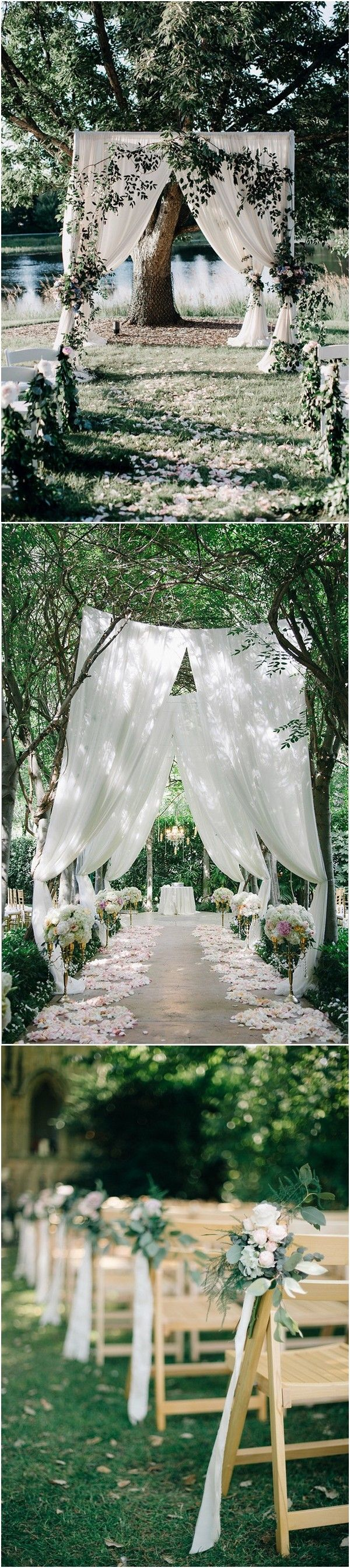25 Brilliant Garden Wedding Decoration Ideas for 2018 Trends - Page ...