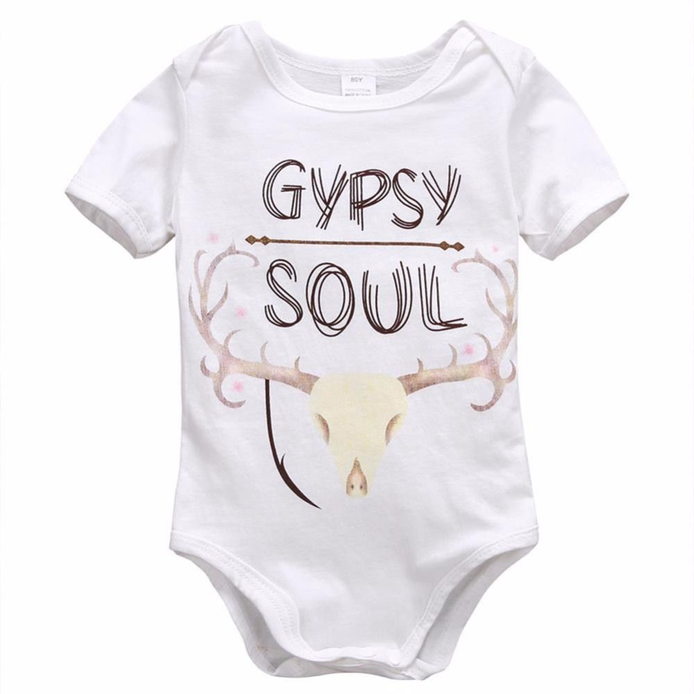 eddd3768b53c Click to Buy    Comfortable Baby Rompers Baby Rompers Short Sleeve ...