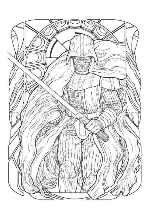 Pin By Sean On Lineart Star Wars Coloring Book Star Wars Art Colour Star