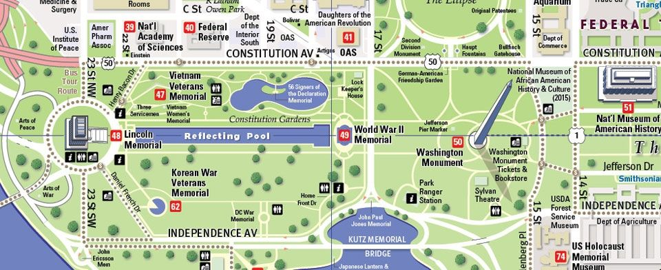 Washington Dc Tourist Map Pdf customize maps with your own content ...