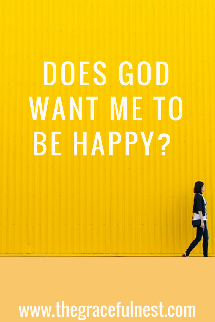 does god want us to be happy