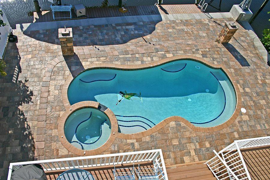 stonehurst sierra brick paver pool deck | outdoor living spaces
