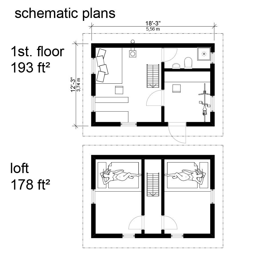 Free small house plans with material list escortsea for Free house plans with material list