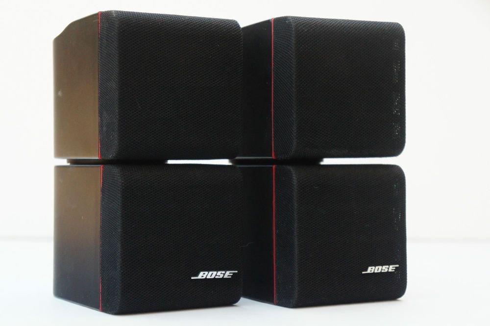 bose double cube speakers. two black bose redline double cube speakers pair tested #bose m