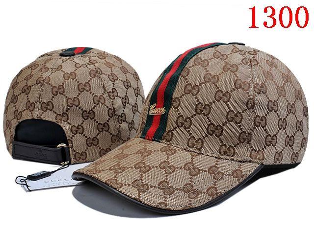 9c9d135e40cb4 Gucci Canvas Baseball Hat