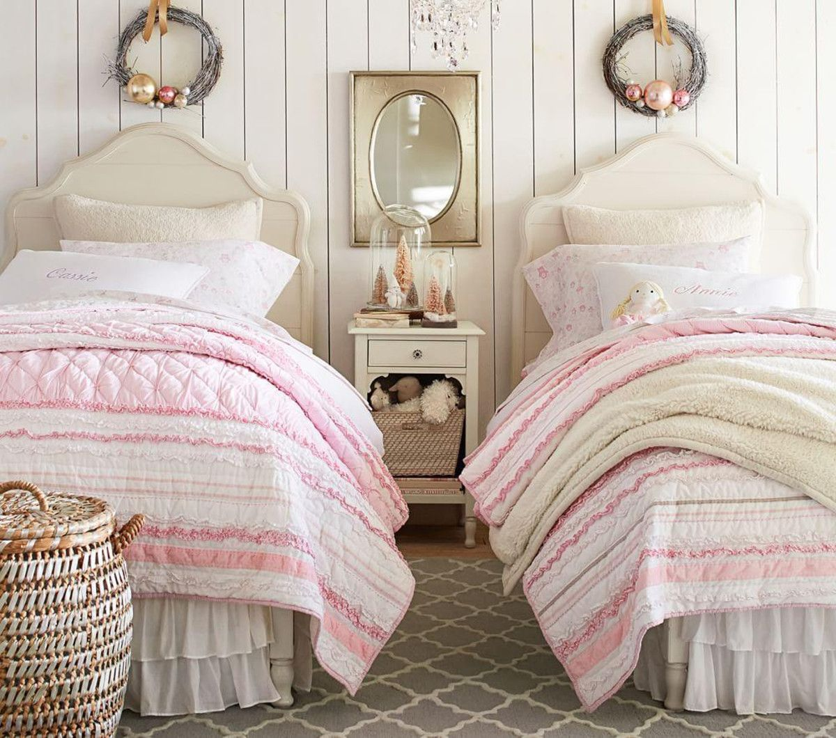 Juliette Bed French White Pottery Barn Kids Kid room