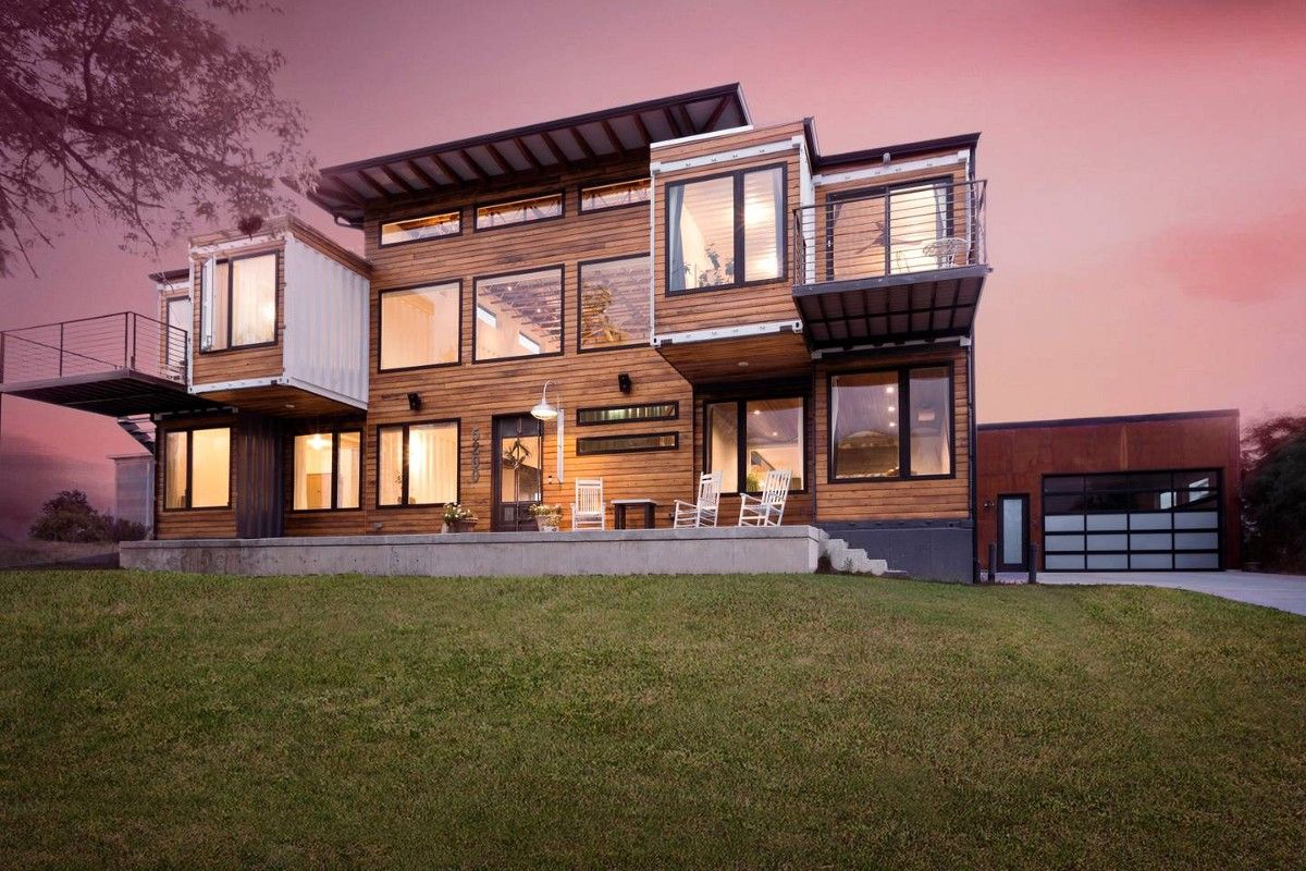 Container52 A Grand Dream House In Denver Colorado Built With 9