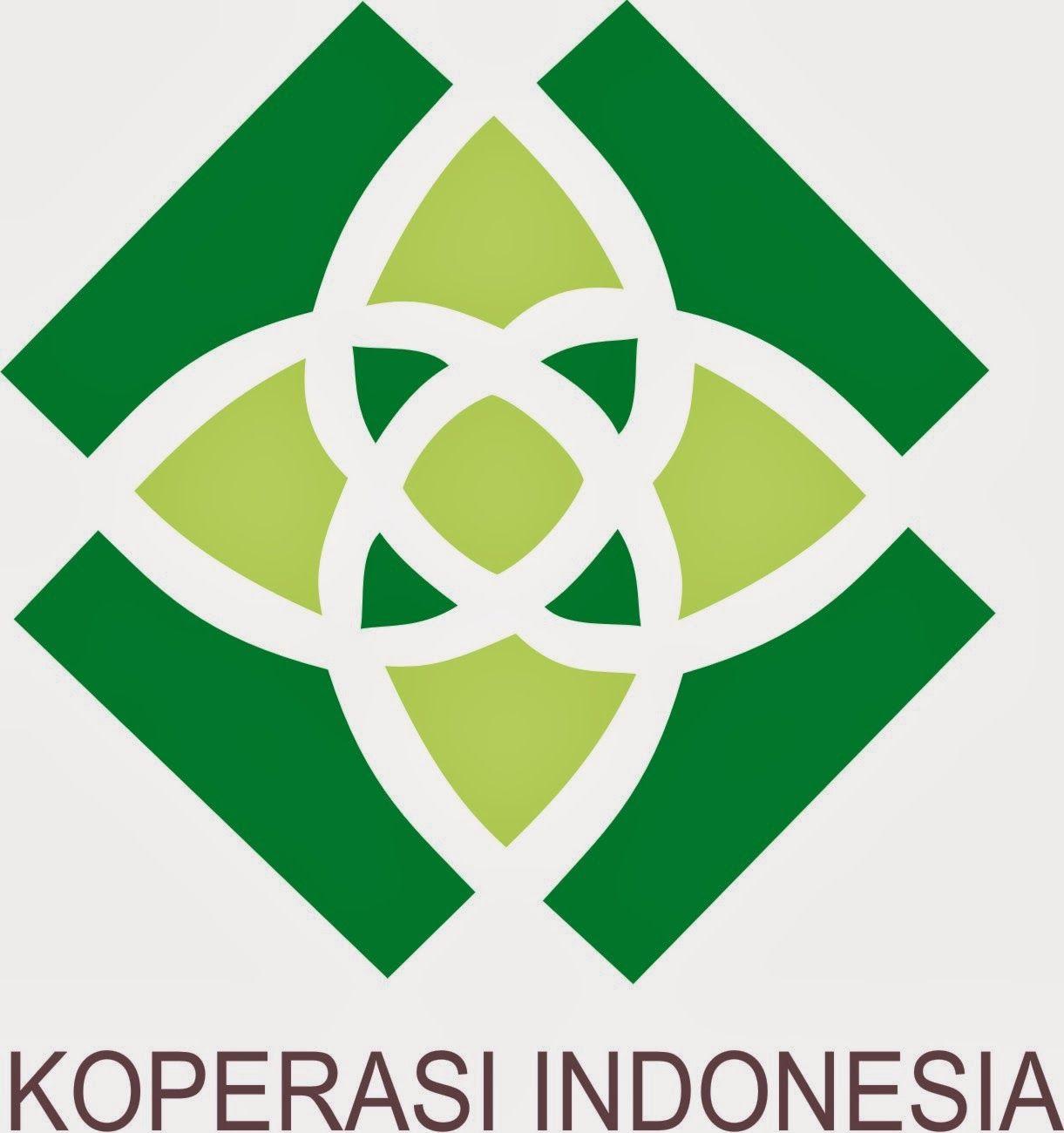 Lambang Koperasi Indonesia Yang Baru Dan Lama Kartu Nama Organisasi Indonesia