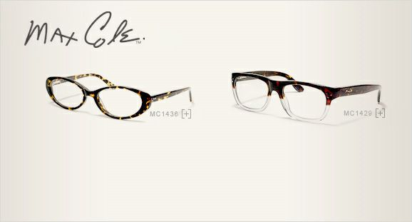 JCPenney Optical | 2 Womens Max Cole Eyeglasses | Style ...