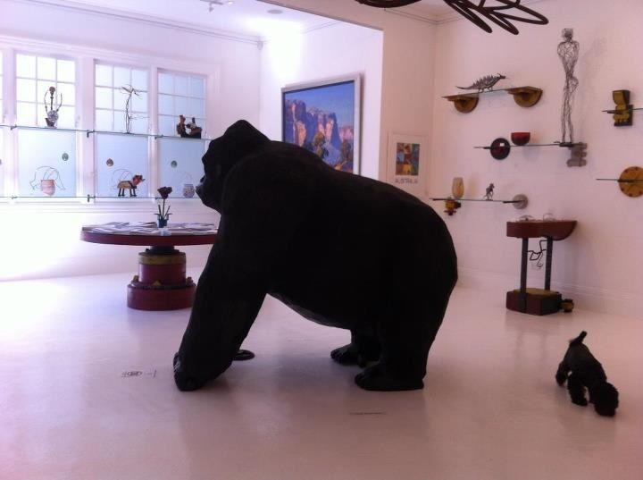 Ian Swift at Lost Bear Gallery Shop