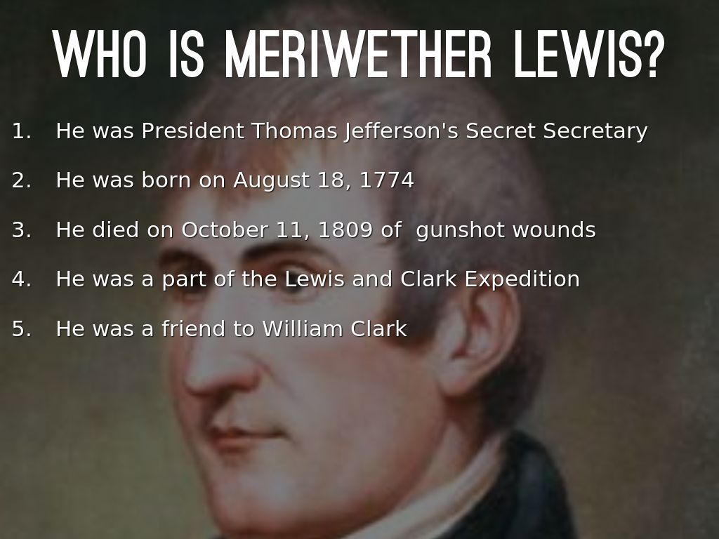 a biography of meriwether lewis an american explorer Biography of meriwether lewis research our constantly updated database of famous biographies order custom written paper on meriwether lewis.