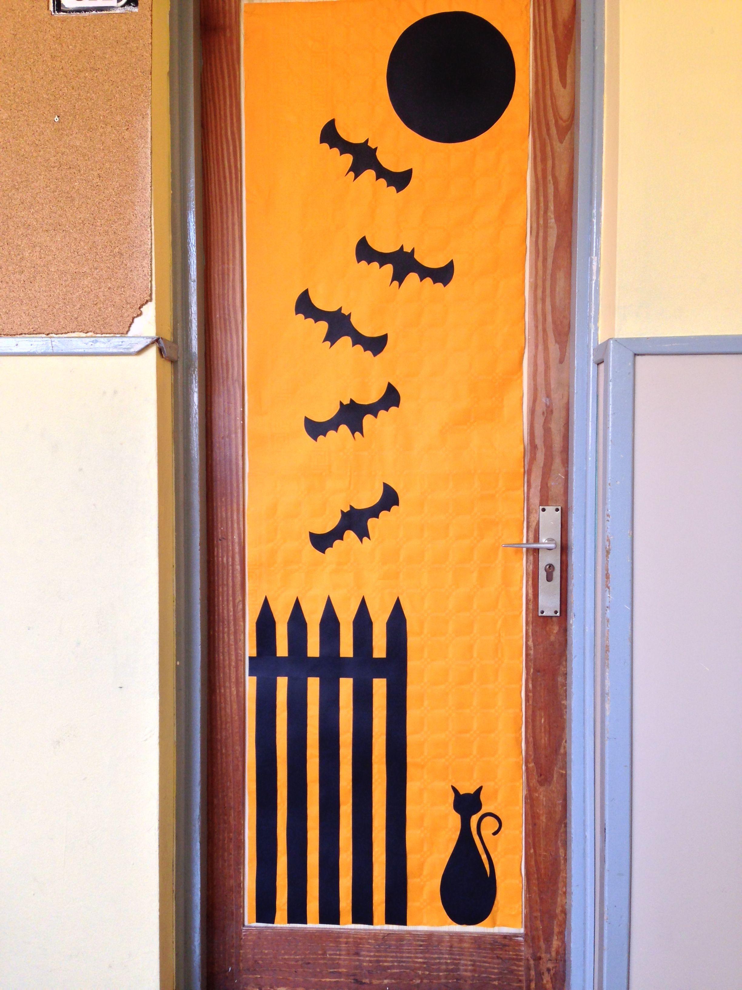 Aula 5ºA Classroom door decorations Pinterest Halloween - classroom door halloween decorations
