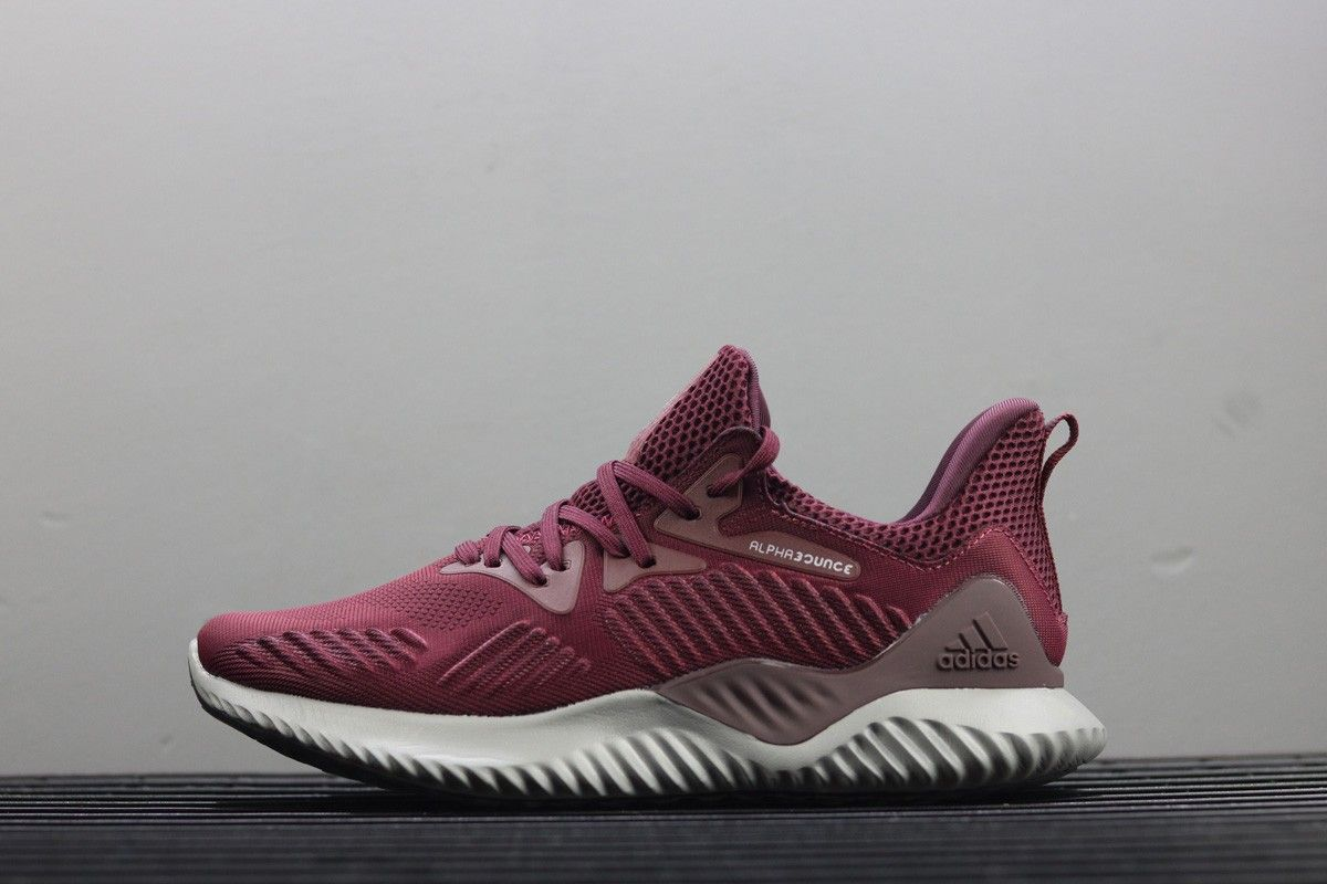 release date 10cfd 902ef adidas AlphaBounce Beyond Maroon  Mystery Ruby For Sale