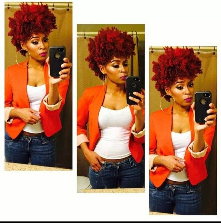 Thinking about going red again