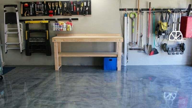We Review Rocksolid S Metallic Garage Floor Coating Garage Floor