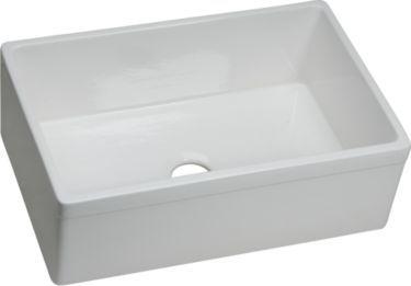 ELKAY | Explore Fine Fireclay Single Bowl Apron Front Undermount Sink SWUF28179WH
