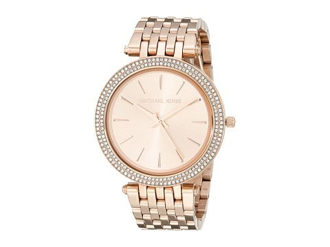 4399e36cc0b7 Michael Kors Darci Rose Gold - Zappos.com Free Shipping BOTH Ways ...