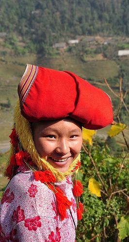 Red Dzao Elegance . Sapa, Vietnam