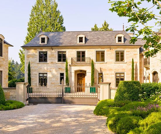 Country French Style Home Ideas French Style Homes French
