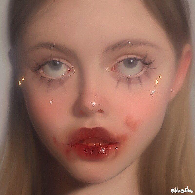 """Julia Razumova on Instagram """"Goodnight💫 App Procreate"""