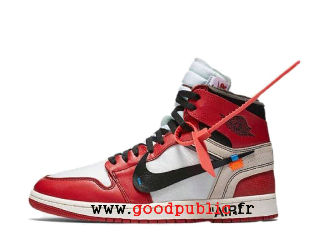 super populaire 8224f b4ad6 Off-White x Air Jordan 1 Prix Chaussure de BasketBall Homme ...