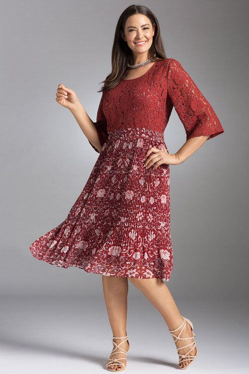 deed23ca569 Sara Pleated Lace Dress at EziBuy Australia. Buy women s