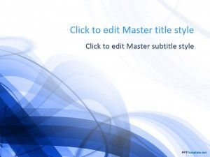 Free Blue Spiral Ppt Template Powerpoint Template Free Ppt Template Powerpoint Templates