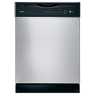 24 Built In Dishwasher With Sani Rinse Stainless Steel Kenmore