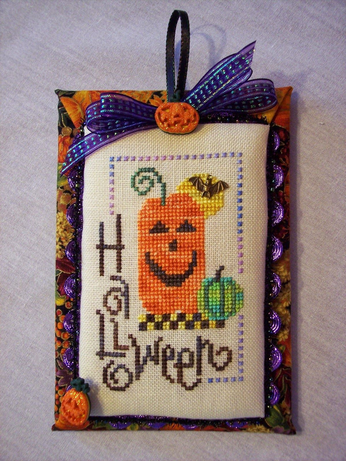 The Happy Stitcher Flat Ornament Finishing Finishing Ideas