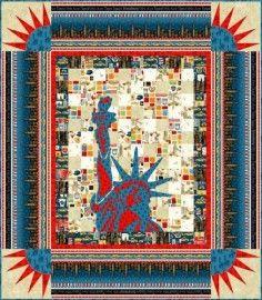 NYC Quilt Kit -- Free Pattern Download - Gail Kesslers Ladyfingers ... : ladyfingers quilt shop - Adamdwight.com