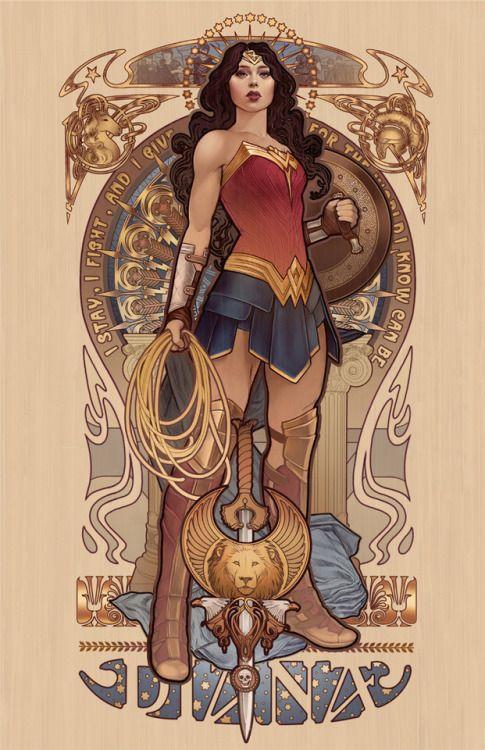 Diana Megan Lara Wonder Woman Pinterest