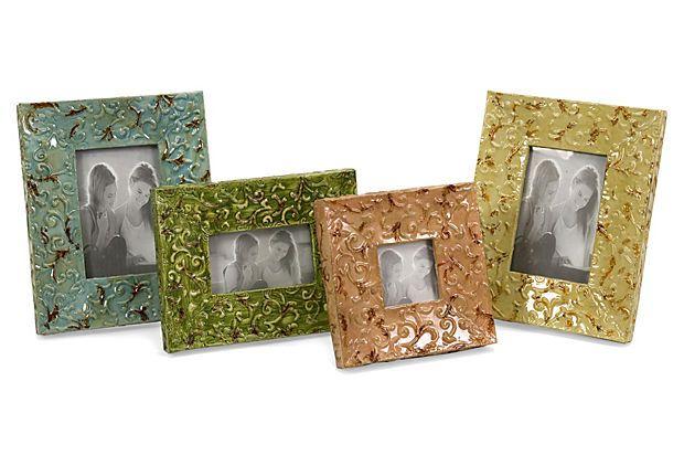 S/4 Vivid Frames on OneKingsLane.com