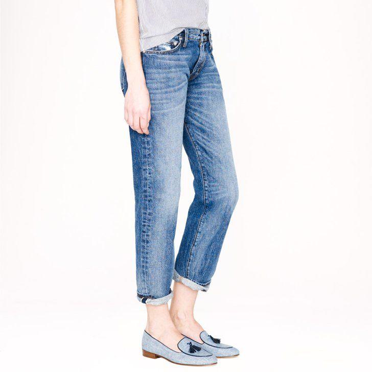 Pin for Later: Seht J.Crews neue Jeans von allen Seiten J.Crew Point Sur Jeans J.Crew Point Sur Vintage X-Rocker Selvedge Jean in Manfred Wash ($268)