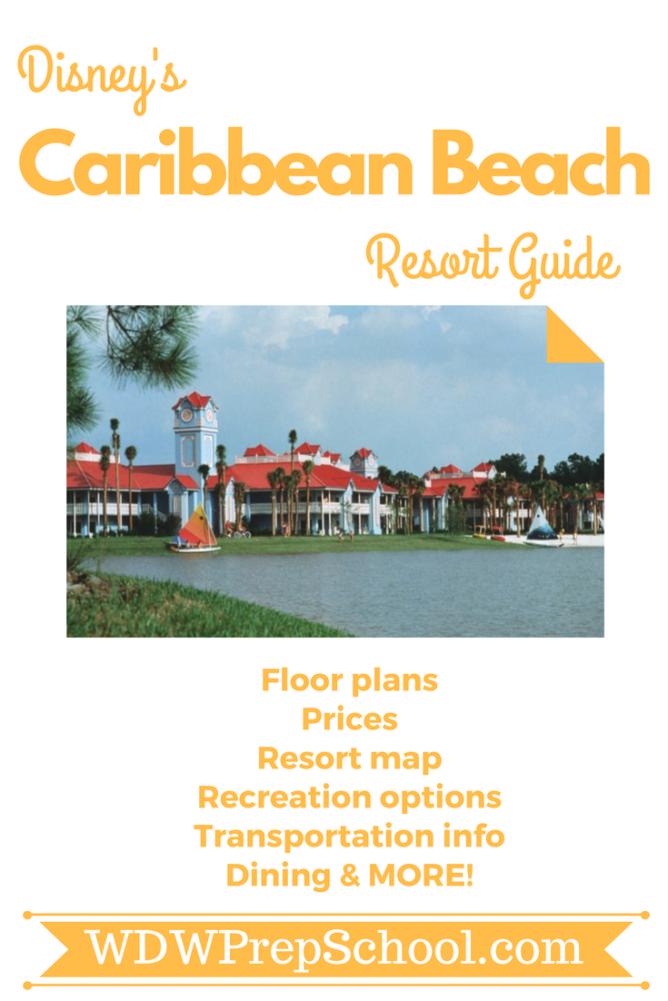 Everything You Want To Know About Disney S Caribbean Beach Floor Plans Maps Recreational Activities Transportation Information More