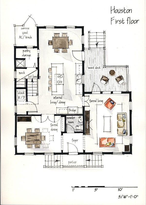 Hand Drawing Plans Interior Architecture Drawing Interior Design Plan Interior Design Drawings
