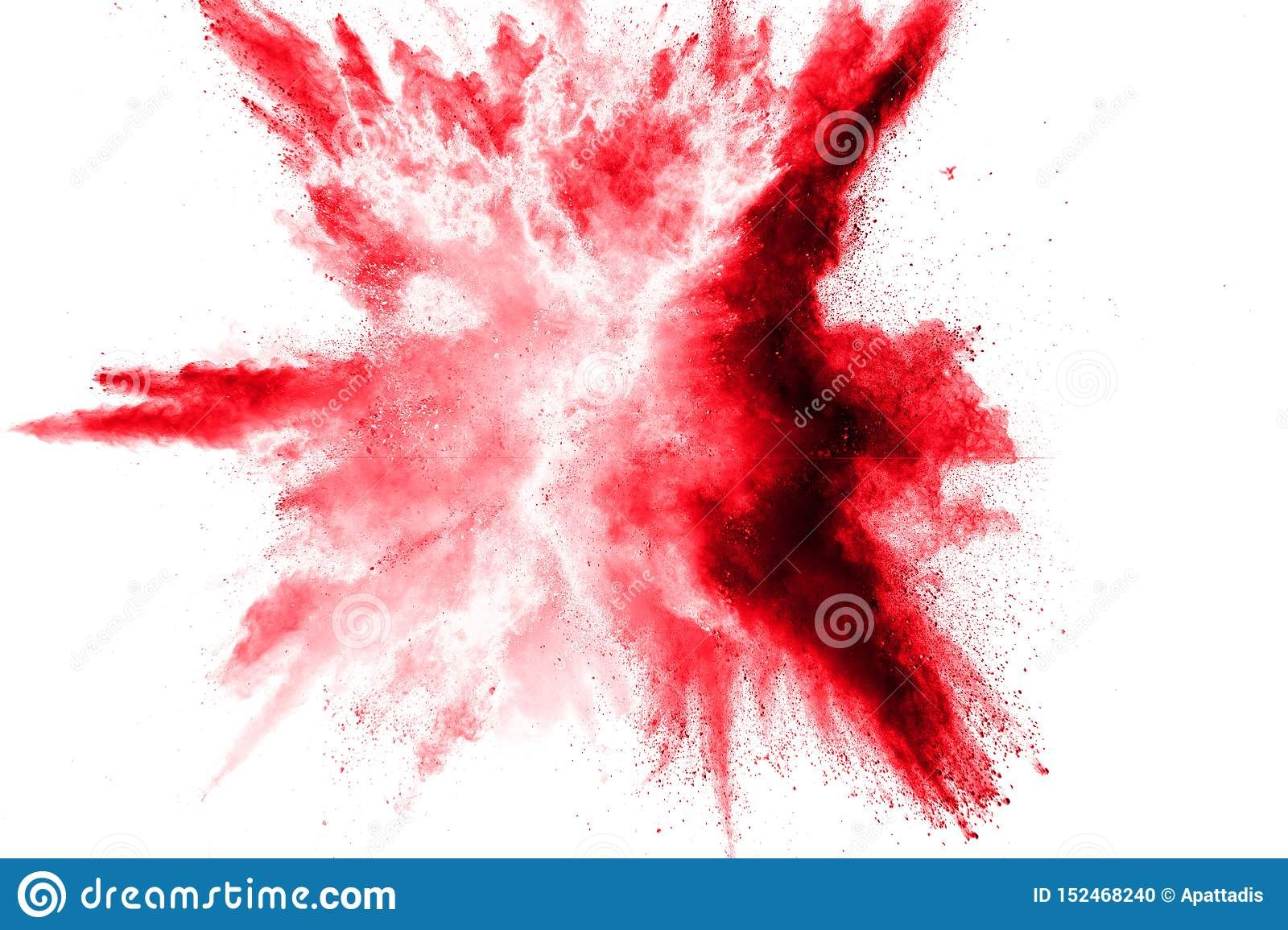 Photo About Abstract Red Dust Splattered On White Background Red Powder Explosion Freeze Motion Of Red Particles Splash Red Artwork Abstract White Background