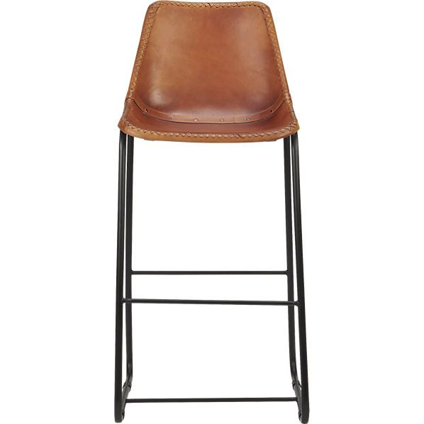 Marvelous Roadhouse Leather 30 Bar Stool Cb2 279 Before Discount Gmtry Best Dining Table And Chair Ideas Images Gmtryco