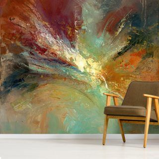 Infinite Sweeping Wall Mural Wallsauce Uk Wall Murals Mural Abstract Wallpaper