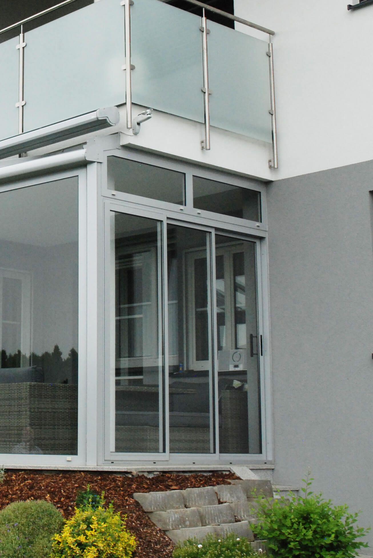 Bekannt Detail Schiebeverglasung mit Rahmen | Schmidinger Projekte TM13