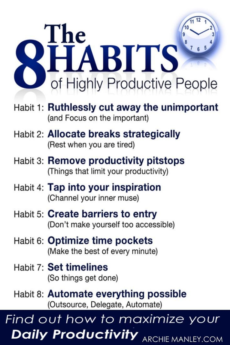 How to Maximize Productivity & Stop Unproductive Habits is part of Organization Work People - One of the most effective ways to develop a better lifestyle is to do things that maximize productivity  There are several reasons people work hard, but get