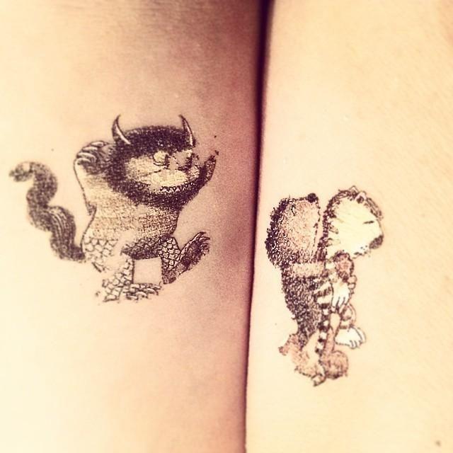 inked body art on  janosch tatoo herr janosch