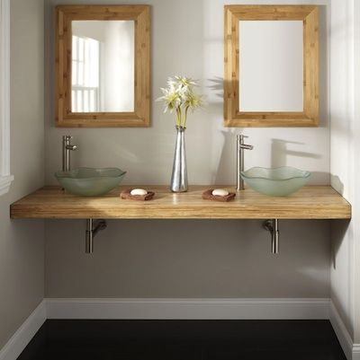 vasque verre depoli | Salle de bain , douche . Idees | Bathroom, Diy ...