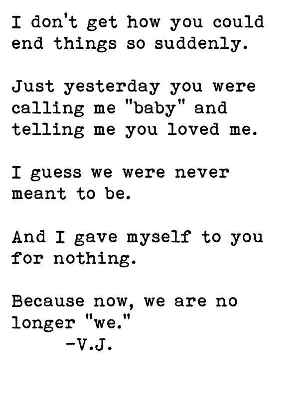 Quote Breakup Breakups Ex Boyfriend Quotes Breakup My Love