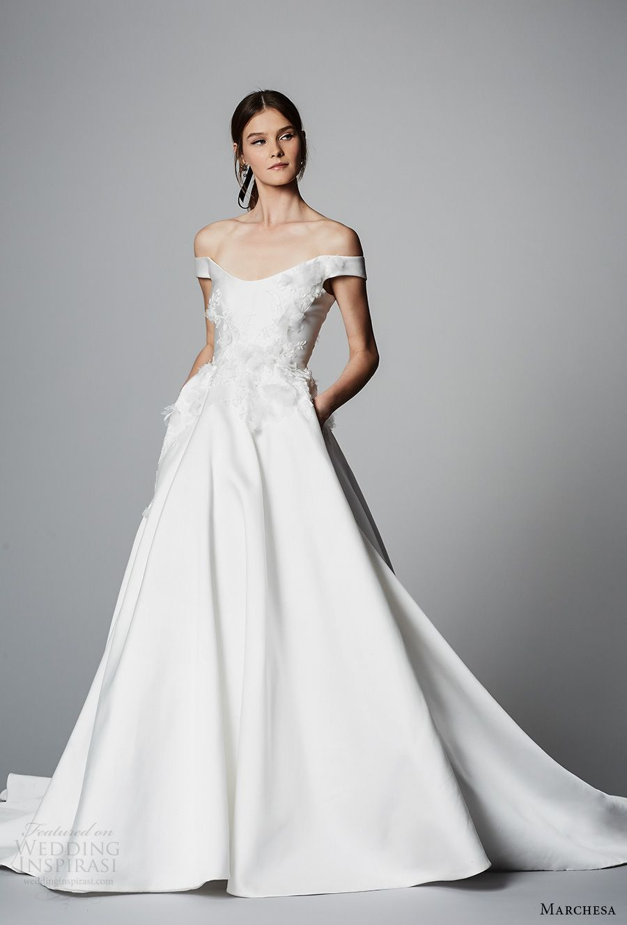 2018 Wedding Dresses with Pockets