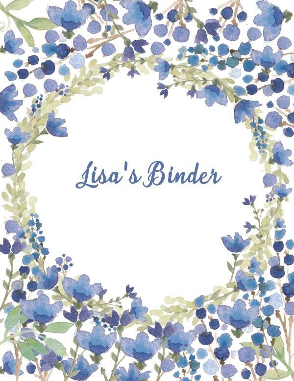 free binder cover templates wedding cards pinterest binder