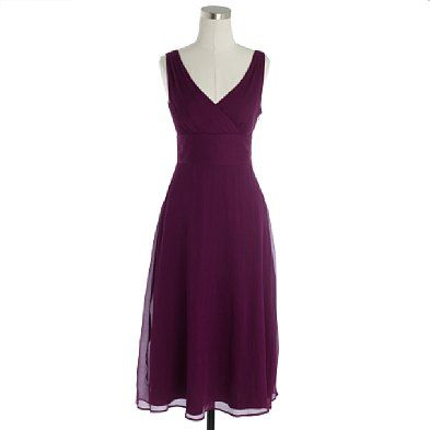 very nice - the color and the sheer overlay give ooomph to an otherwise simple dress.