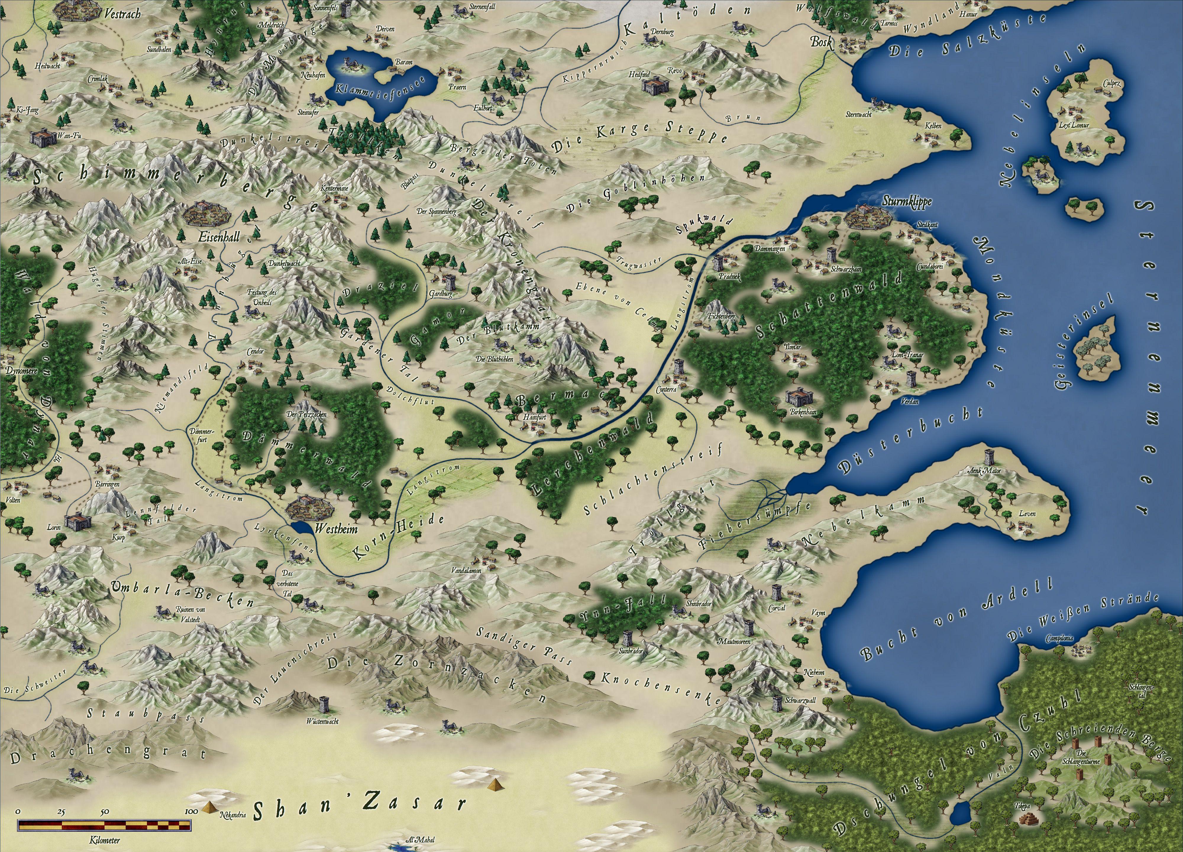 Httpmapsandmoreshopdsdsfreielandecc3grossg rpg maps the free lands of christian kennig map by ralf schemmann gumiabroncs Images