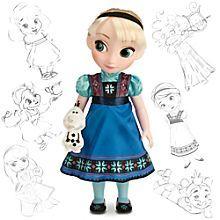 Poupee Disney Animator Elsa La Reine Des Neiges - PriceMinister Rakuten