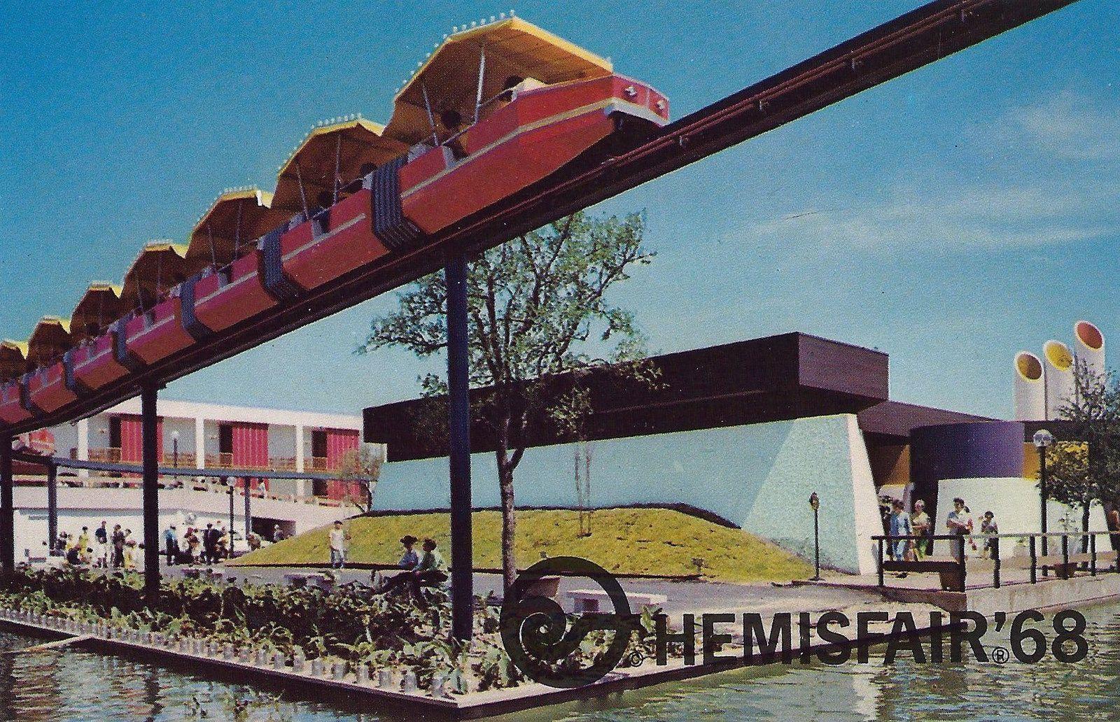The 1968 World S Fair Hemisfair 68 Held In San Antonio